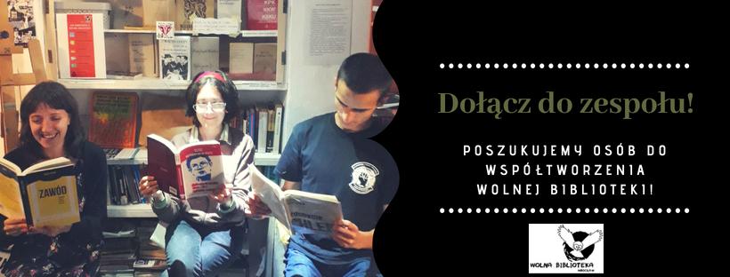 Dołącz do zespołu Wolnej Biblioteki!