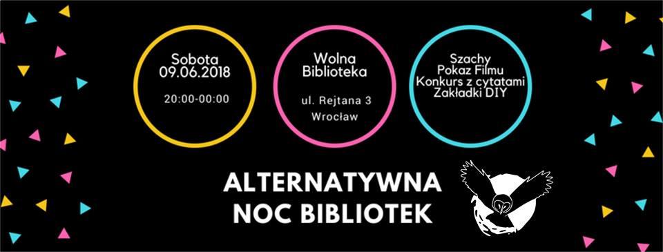 Alternatywna Noc Bibliotek